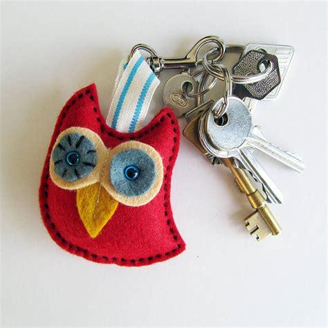 Handmade Owls - handmade owl key ring by thebigforest notonthehighstreet