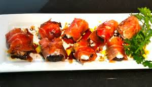 grilled figs with goat cheese wrapped in prosciutto mary s joy of family cooking