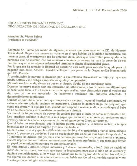 Carta Formal Solicitud De Apoyo modelo carta solicitud de ayuda ejemplos de