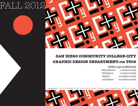 design lab hours sdcc graphic design fall 2012 lab hours