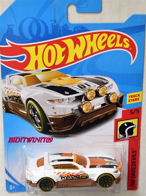 Wheels Hotwheels Rally Cat wheels 2018 hw daredevils rally cat white 0003524