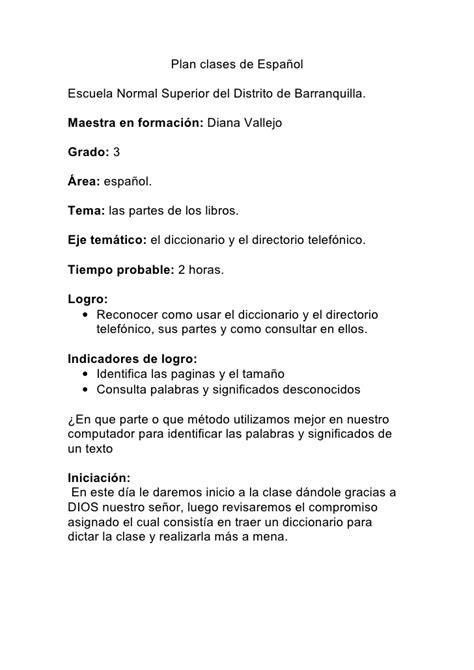 traduccion de layout en espanol plan clases de espa 241 ol