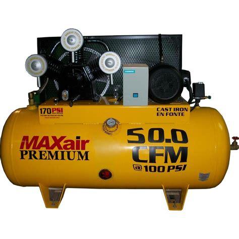 maxair premium industrial 120 gal 10 hp electric single stage single phase horizontal air