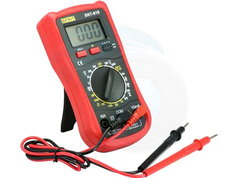 Multitester Digital Cellkit handheld digital multi tester ammeter voltmeter resistance