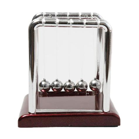Pajangan Per 5 pajangan meja pendulum newton size s brown