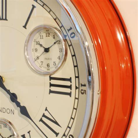 kitchen wall clocks contemporary modern big kitchen wall clock uk