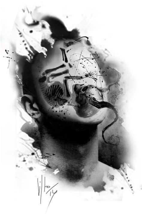 digital tattoo design 34 best digital images on black gray