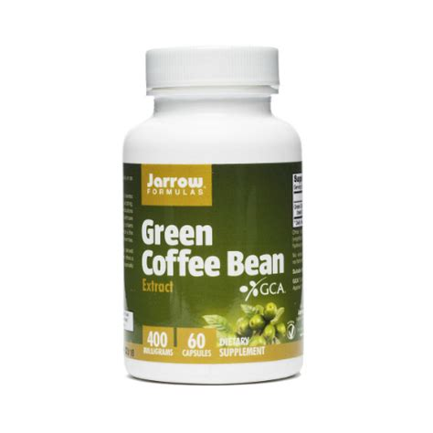Green Coffee Bean 60 Cap Green Coffee Bean Extract 400mg 60 Caps 13 83ea From Jarrow