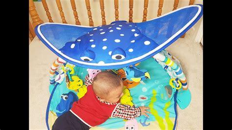disney baby mr ray ocean and lights gym disney baby mr ray ocean lights activity gym with dory