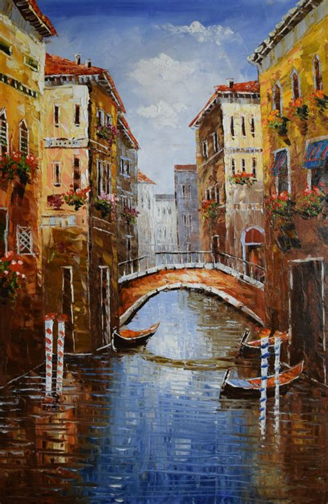 Cheap Online Home Decor Stores by Online Get Cheap Abstract Paintings Of Venice Aliexpress