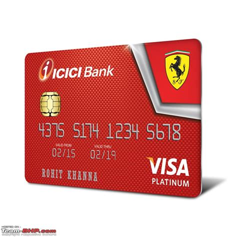 Icici Bank Gift Card - icici bank launches ferrari range of credit cards team bhp