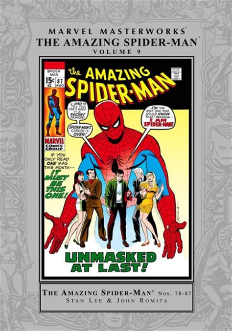 marvel masterworks the amazing spider volume 1 new printing jim mooney trade reading order