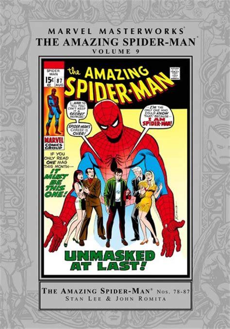 marvel masterworks the amazing spider volume 1 new printing jim mooney trade reading order