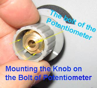The Knob Connection by Trouble Shooting Syj 150