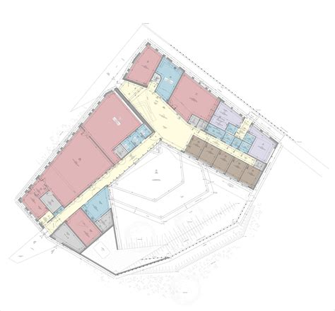 Community Center Floor Plans Community Arts Center And Youth Club Mas Architecture