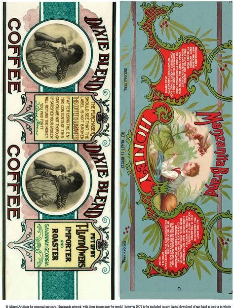 printable vintage labels for cans free printable can labels vintage brands images for