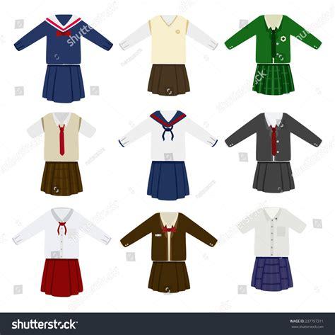 jersey design free vector school uniform vector stock vector 237797311 shutterstock