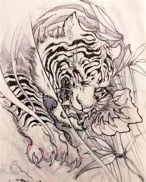 japanese style tiger tattoo designs tiger design tatts tiger