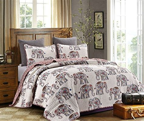 elephant bedding queen elephant comforter set queen amazon com