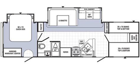 puma floor plans 2014 palomino puma 30 fbss floorplan prices values