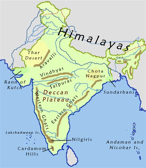 on india physical geography of india facts information facts n
