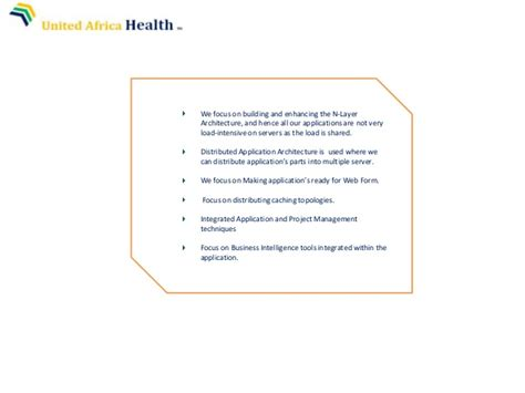 Uah Mba Admission Requirements by United Africa Health