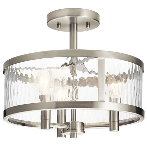 clear glass flush mount ceiling light flush mount lights shown in old silver finish
