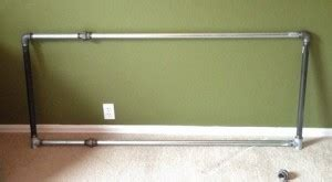 How To Fix Metal Bed Frame How To Build A Bed Frame Out Of Metal Pipe 4 Removeandreplace