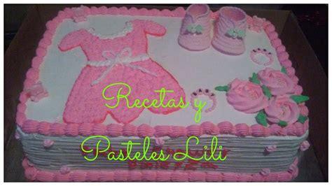 decoracion de pasteles baby shower decoraci 243 n pastel de baby shower youtube
