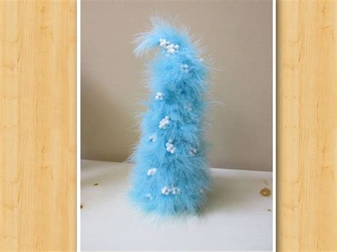 whimsical feather boa christmas tree youtube