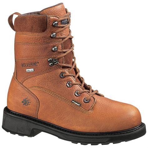 wolverine durashock boots s wolverine 174 durashocks 174 8 quot slip resistant tex