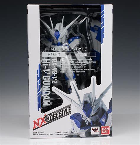 Nxedge Style Ms Gundam Hi Nu review nxedge style ms unit rx 93 v2 hi nu gundam no 40 big size images gunjap