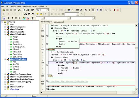 delphi syntax tutorial econtrol syntax editor sdk overview