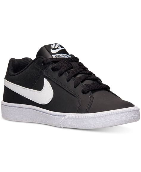 Sepatu Nike Court Royale jual nike court royale leather black white original shoes