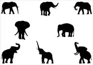 elephant silhouette vector elephant vector cliparts co
