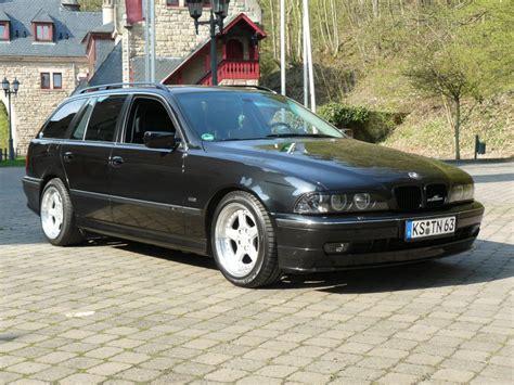 Bmw E39 Touring Hinten Tieferlegen by E39 Touring Black Is Beautyful 5er Bmw E39
