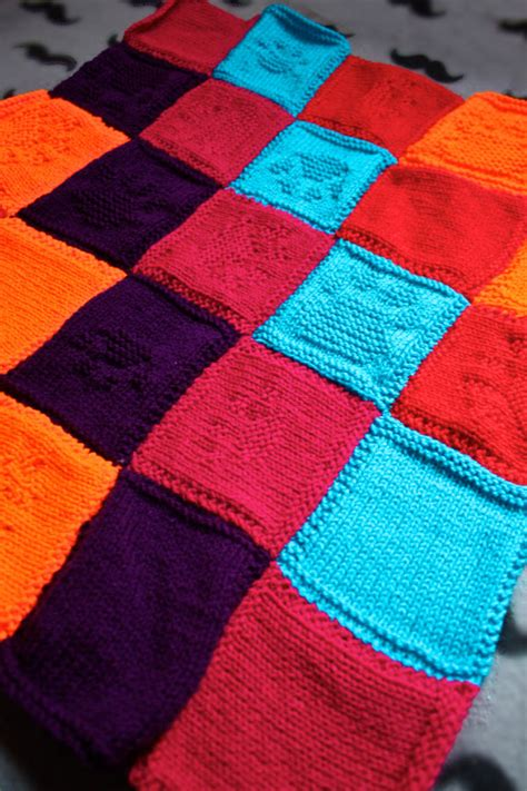 Rettungshund Decke knit a blanket for a rescue and style the