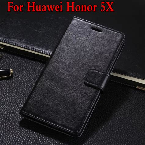 Flip Leather Retro Wallet Cover Casing Huawei Honor 4c retro flip wallet stand leather cover skin pouch for huawei honor 5x play phone cover