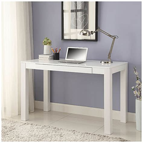Parsons White Finish 48 Quot Desk Big Lots Big White Desk