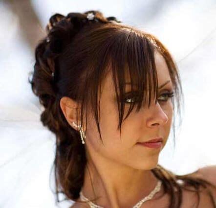 Hochzeitsfrisur Mit Pony by Hochzeitsfrisuren Mit Pony