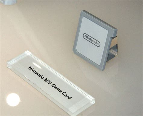 Album Cartridge Nintendo 3dsds nintendo 3ds cartridges are so beefy they might you
