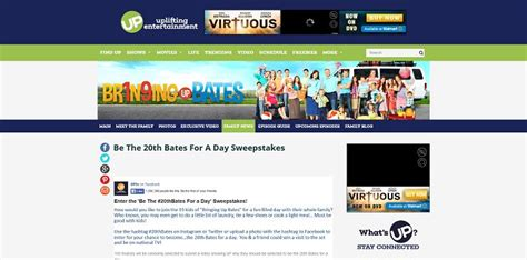 Sweepstakes A Day - 20thbates com be the 20th bates for a day sweepstakes