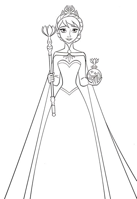 princess queen coloring pages 93 coloring pages queen elsa disney frozen queen
