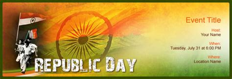 Invitation Letter Format For Republic Day Free Republic Day Invitation With India S 1 Tool