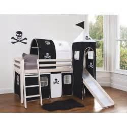 bett pirat pirate bed with slide bedroom beds bedding