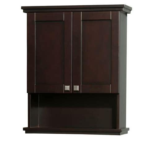 wyndham collection acclaim             bathroom storage wall cabinet