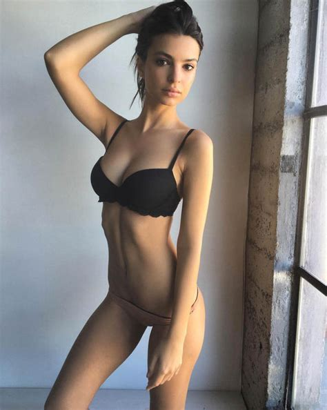 shota straight flagged deletion emily ratajkowski poses in just her underwear for steamy