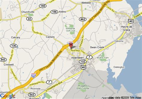 maryland map aberdeen map of springhill suites by marriott edgewood aberdeen