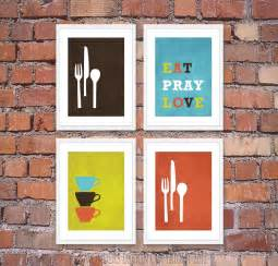 kitchen wall decor modern kitchen wall art print set inspirational by