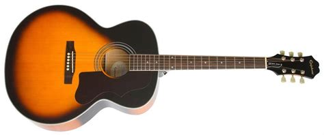 Gitar Epiphone Sg Sunbrus epiphone ej200 artist acoustic guitar vintage sunburst